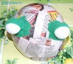 Jak zrobić kostium żabki - głowa