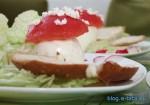 przepisy na potrawy dla dzieci - smaczne muchomorki 6