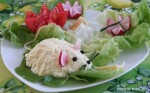 Myszki z twarogu i jajka