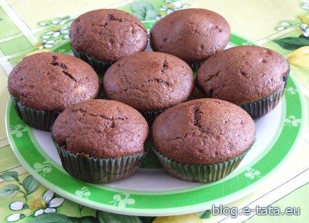 Muffinki zrobione przez moje dzieci