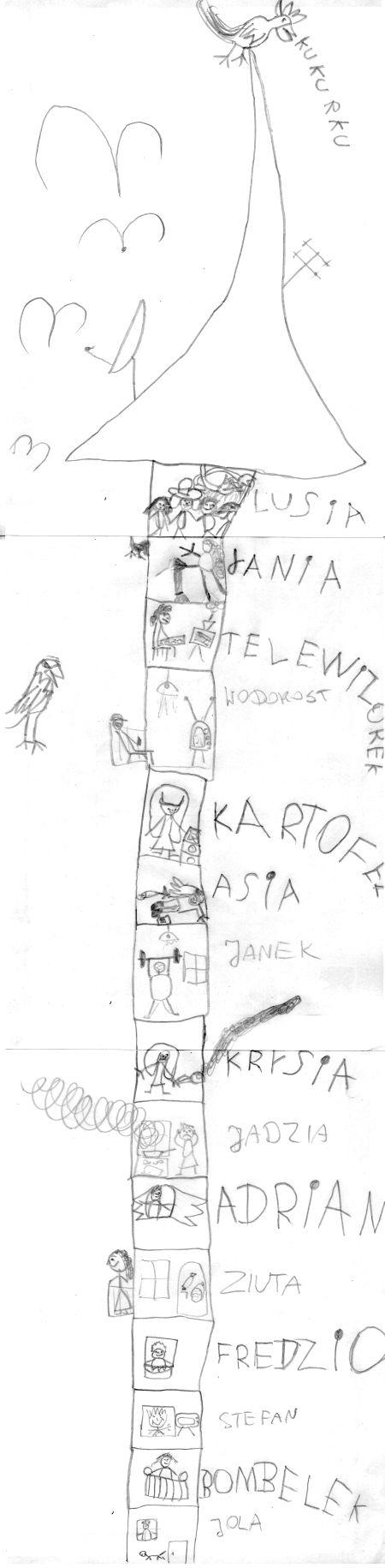 Wieżowiec - zabawa dla dzieci