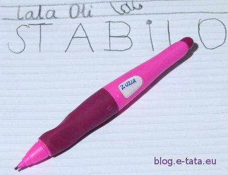 Ołówek można podpisać