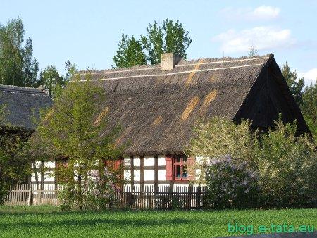 Chata w skansenie, w Osieku nad Notecią
